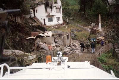 Serbiska granater mot tuzla